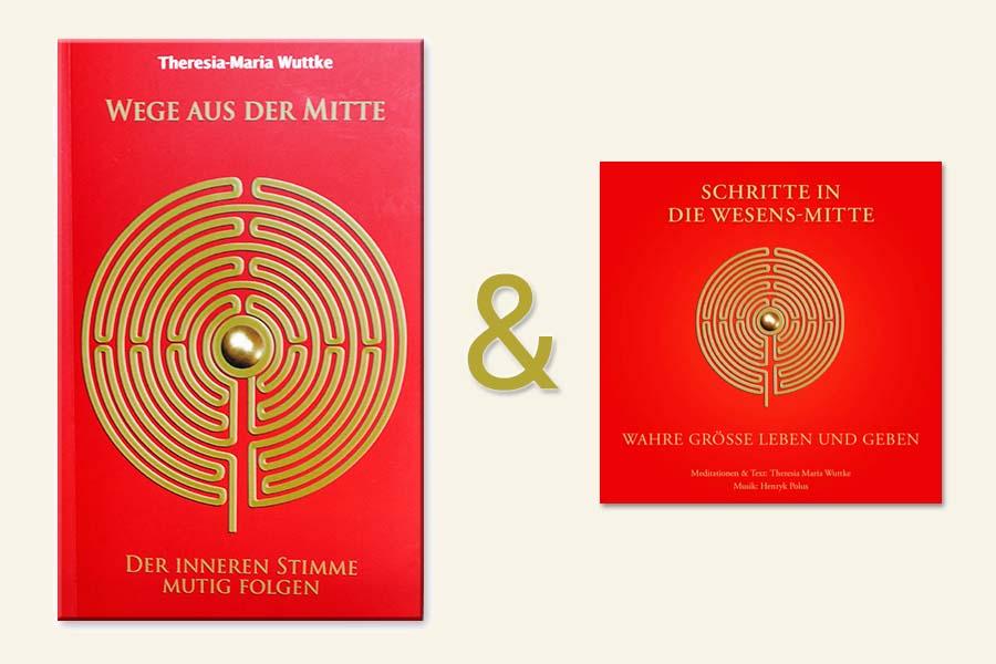 SCHRITTE IN DIE WESENS-MITTE – Neuauflage der Meditations-CD